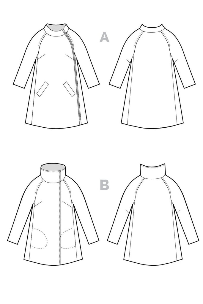 Clare Coat By Closet Case Patterns