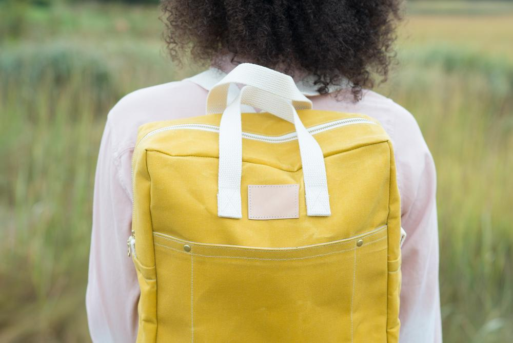 Making Backpack Sewing Pattern by Noodlehead - Frumble Fabrics