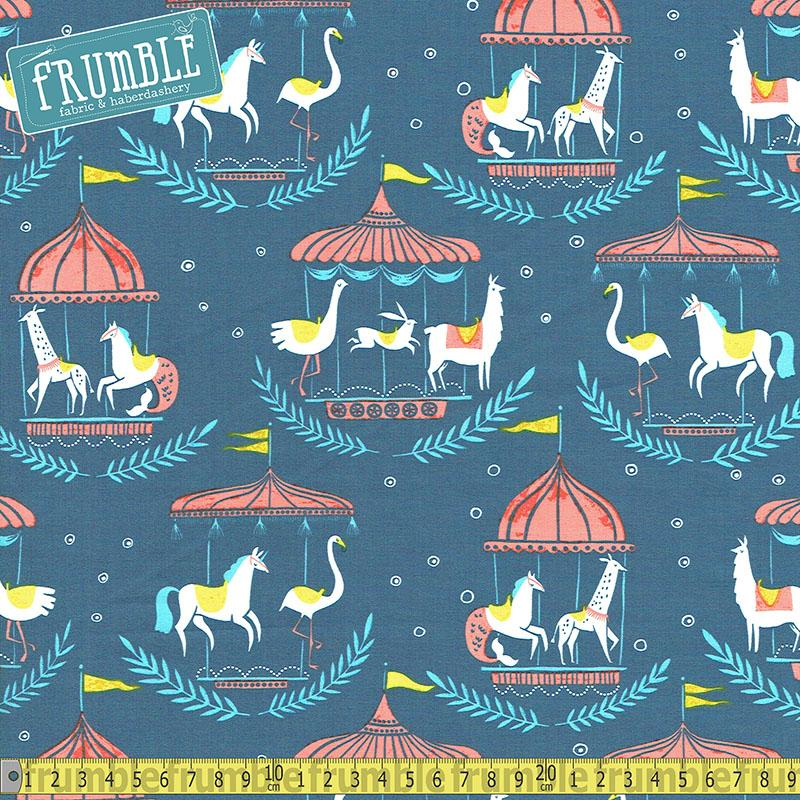 Merry Go Round in Moonlight - Frumble Fabrics