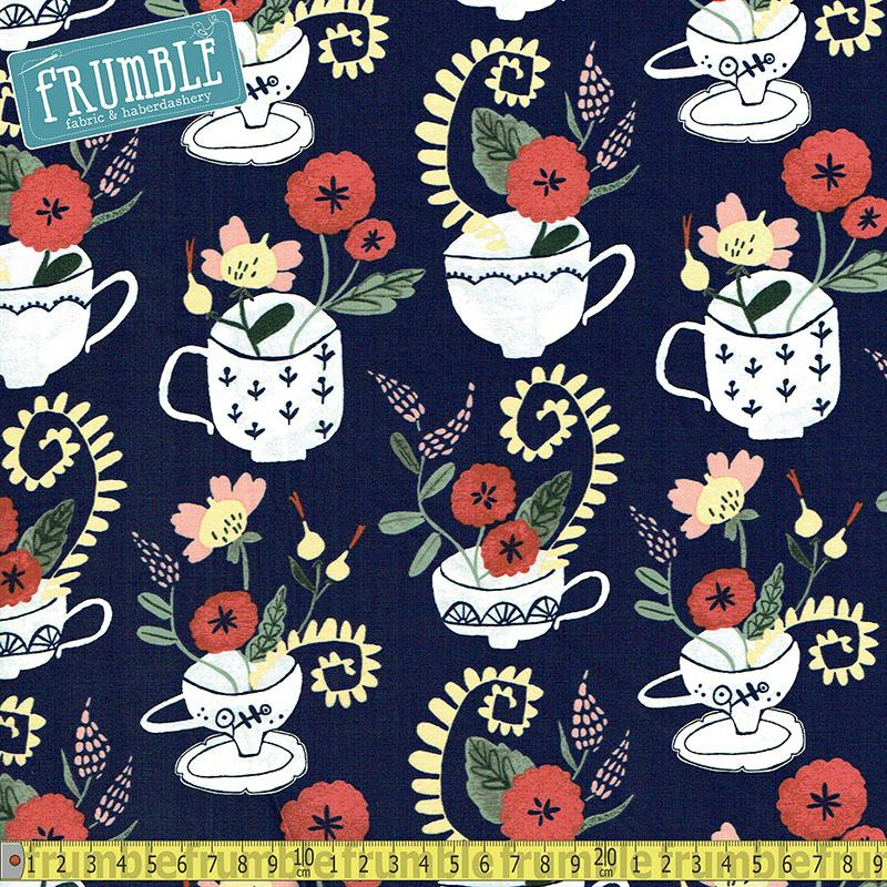 Tea Time Cup Bouquet in Multi - Frumble Fabrics