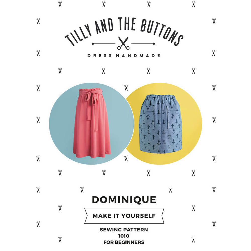 1010 Dominique Skirt - Tilly and the Buttons Pattern - Frumble Fabrics