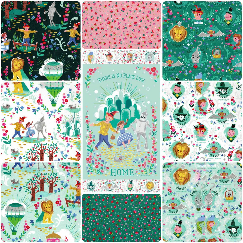 Dorothy's Journey by Riley Blake FQ+Panel Bundle - Frumble Fabrics