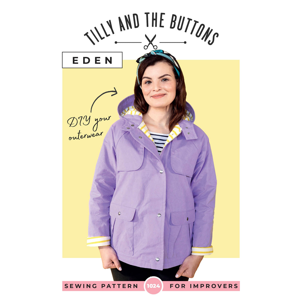 1024 Eden Coat - Tilly and the Buttons Pattern - Frumble Fabrics