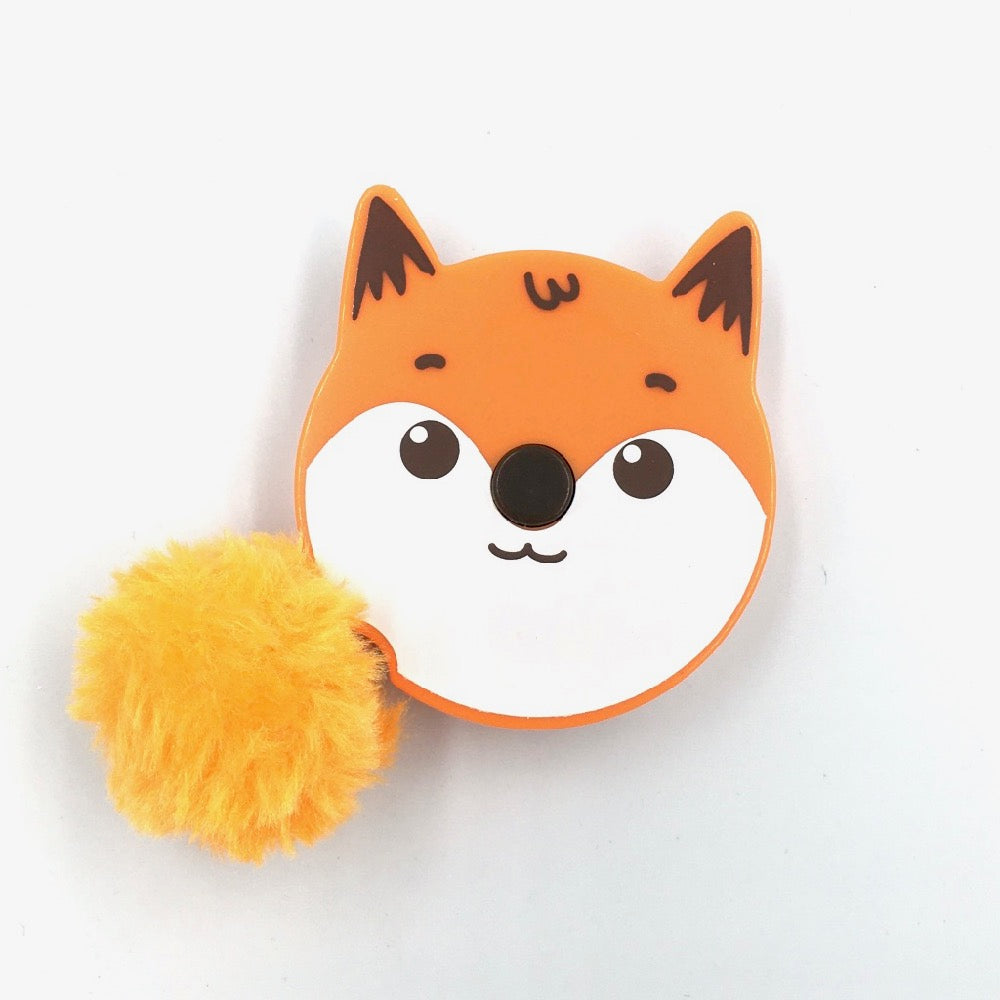 Pom Pom Animals Tape Measure - Fox