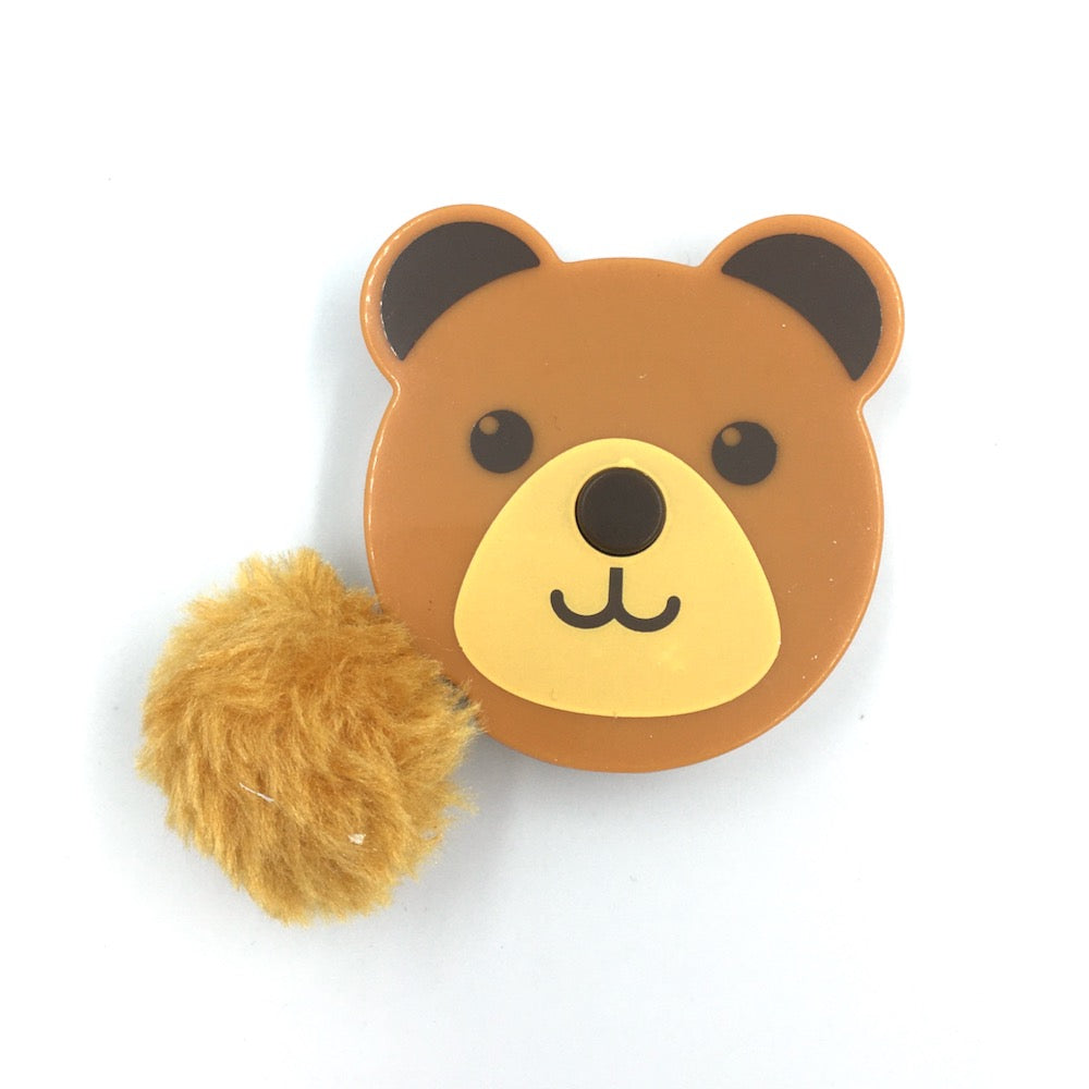 Pom Pom Animals Tape Measure - Bear