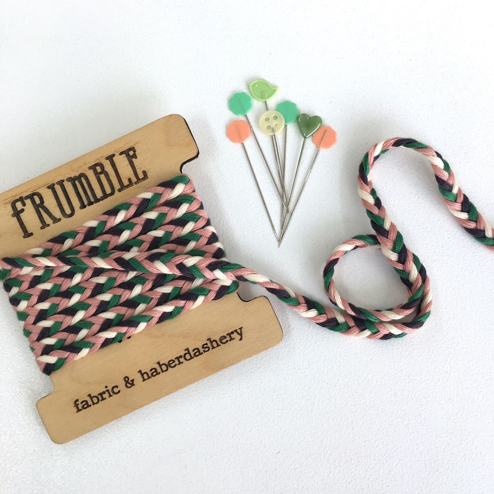 Braid Plait Cord Trim Hawaii - Frumble Fabrics