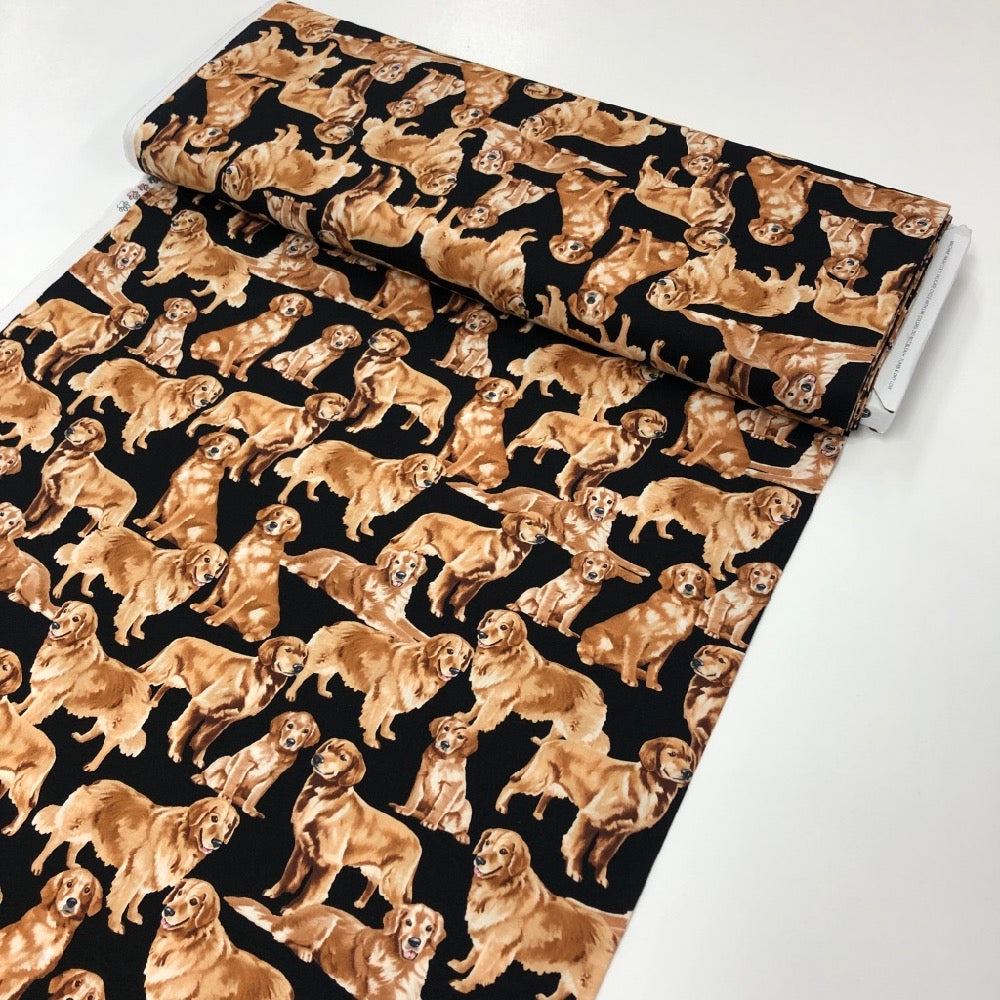 Golden Retrievers - Frumble Fabrics