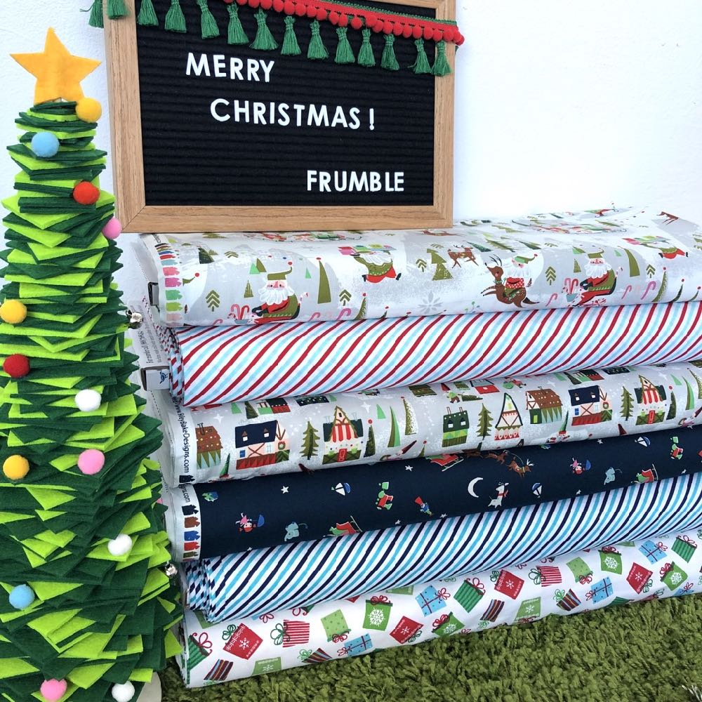 Way Up North Christmas Fat Quarter Pack