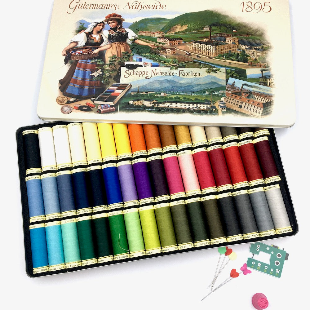 Gutermann Sew All Selection Tin with 48 Reels