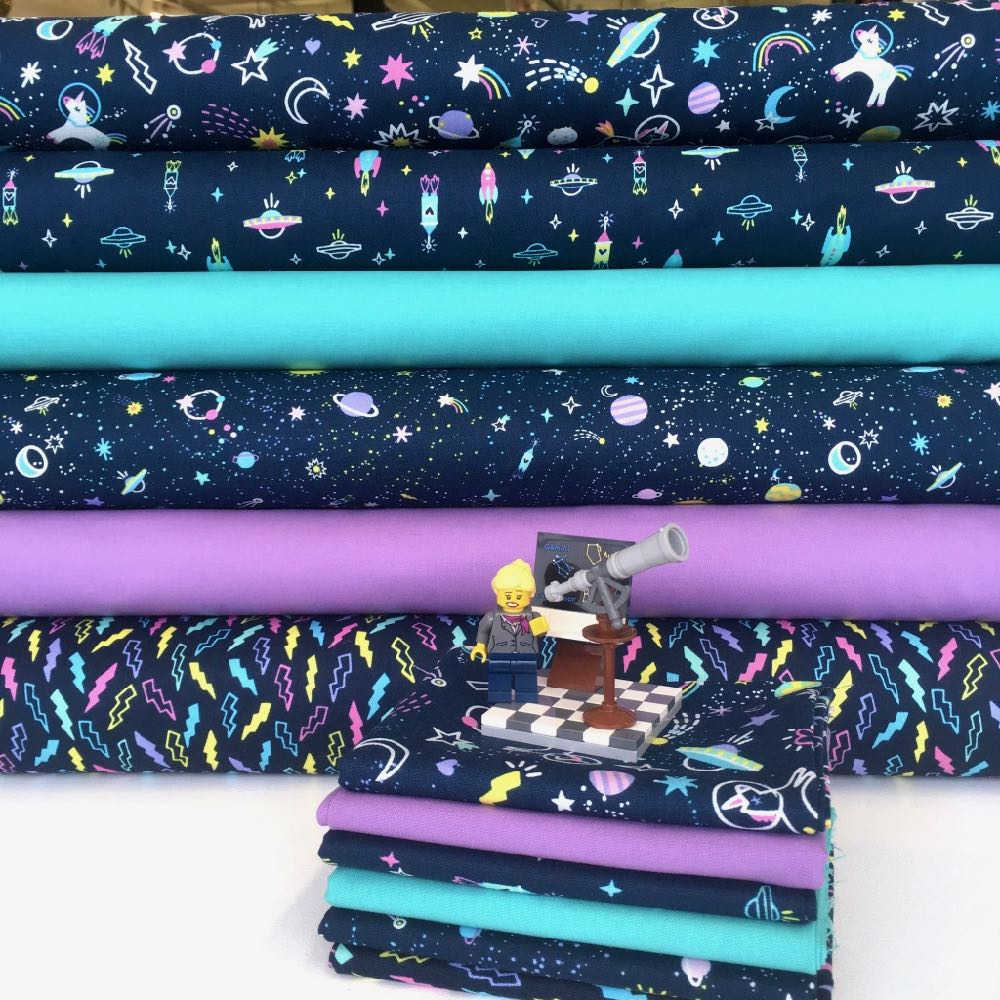 Space Magic Fabric FQ Bundle