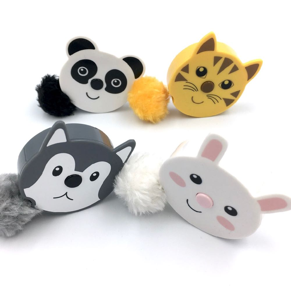 Pom pom Animals Tape Measure - Rabbit - Frumble Fabrics