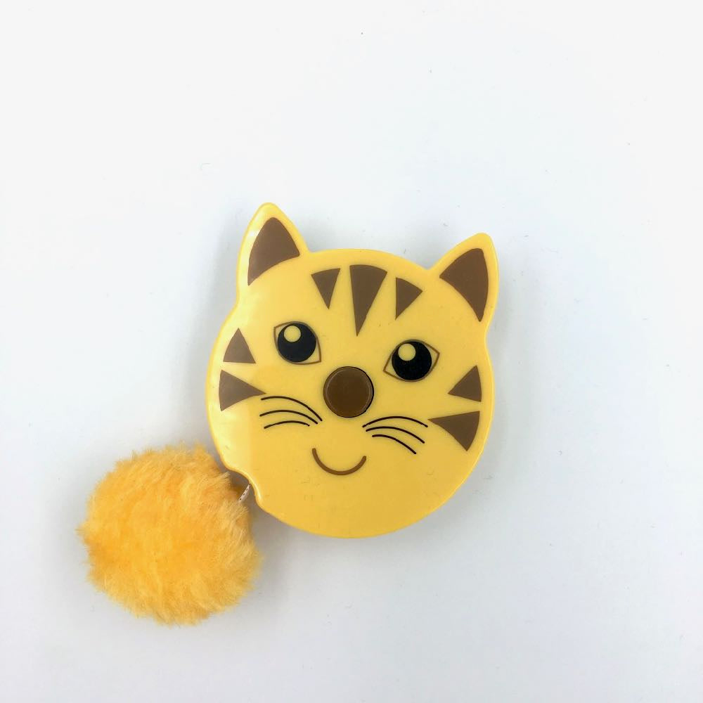 Pom pom tail Animals Tape Measure - Tiger Cat - Frumble Fabrics