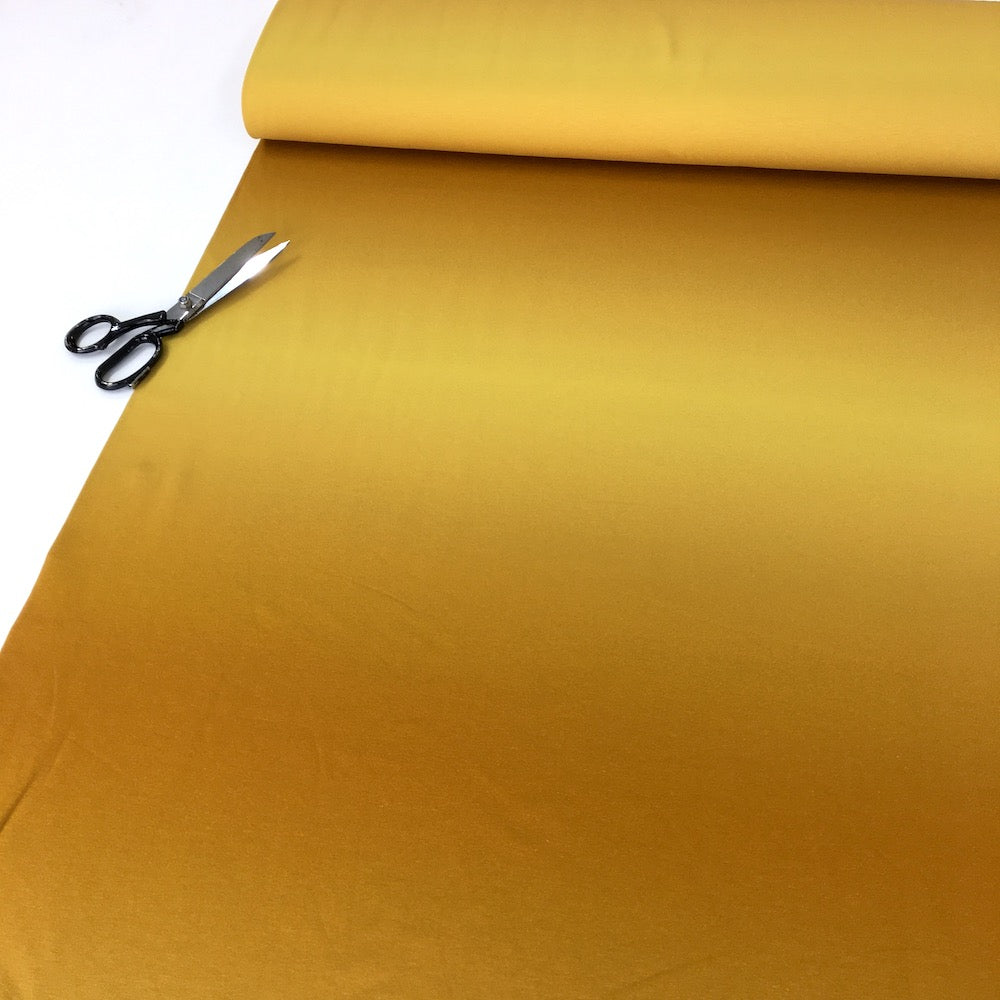 Smooth Colours - Ombre Solids French Terry - Mustard