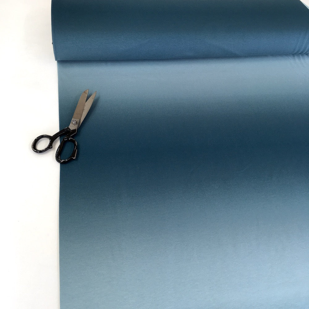 Smooth Colours - Ombre Solids French Terry - Blue