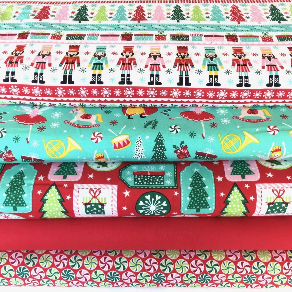 Christmas Nutcracker Fat Quarter Pack