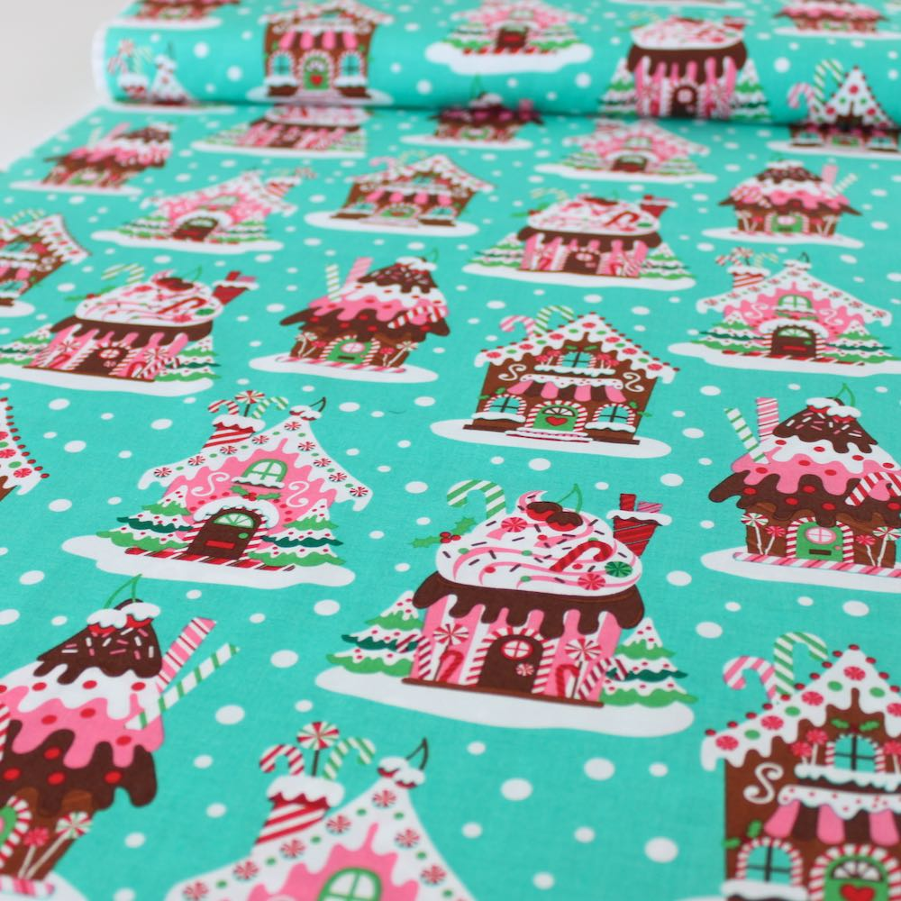 Gingerbread Village - Frumble Fabrics
