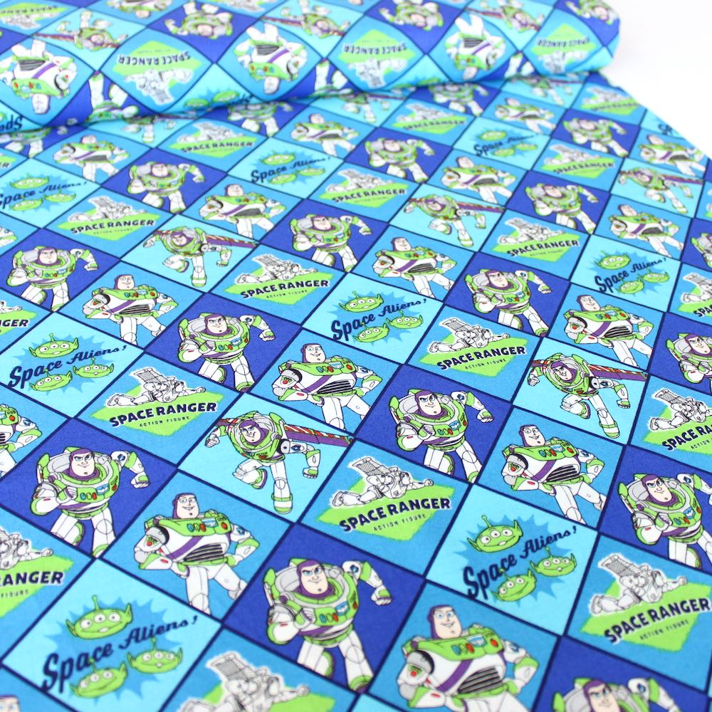 Toy Story 4 Buzz Lightyear Fabric by Camelot