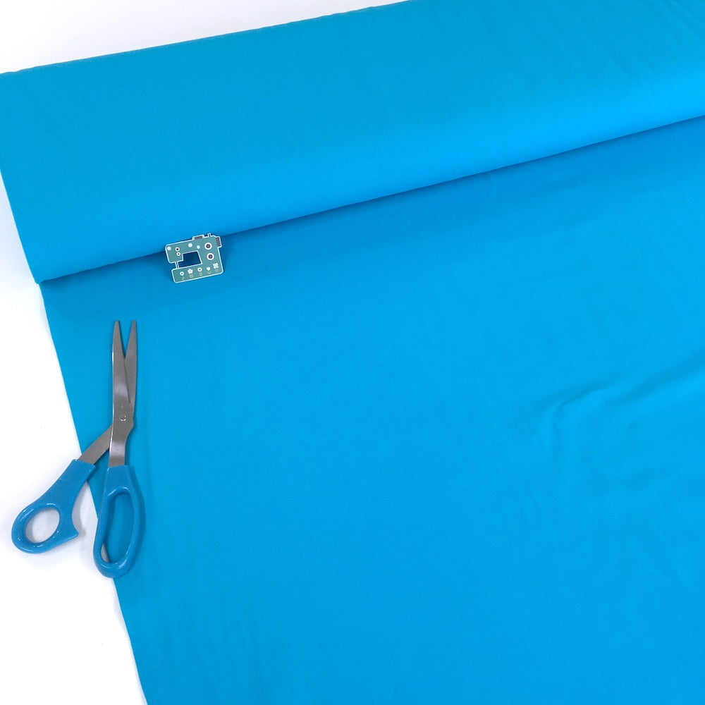 Organic Jersey Solids - GOTS Cotton Knit - Turquoise