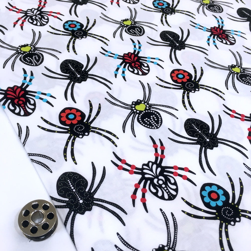 Sugar Skull Spiders White