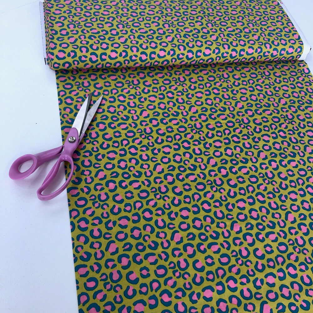 Dashwood Studio - Night Jungle - Leopard Print Yellow