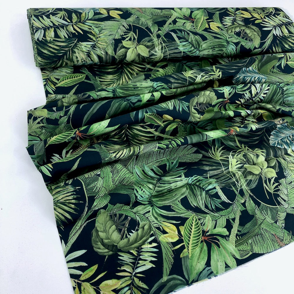 Lady McElroy - Cotton Lawn Fabric - Foliage Canopy