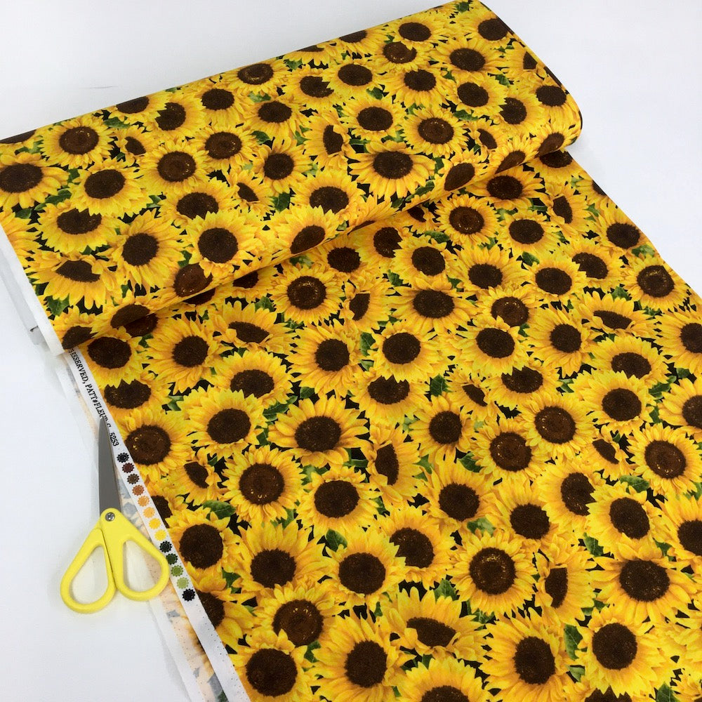Packed Sunflowers Yellow