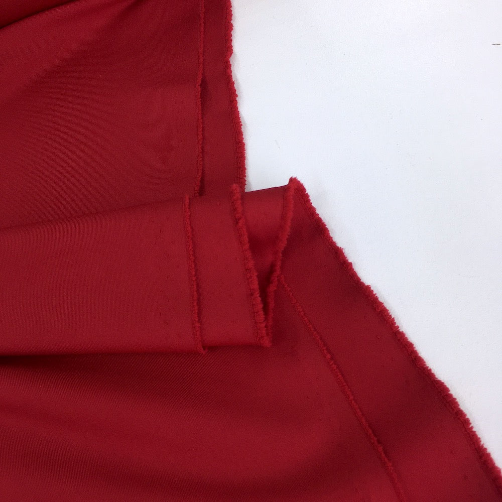 Fit Knit Sport Technical Leggings Jersey Red - Frumble Fabrics