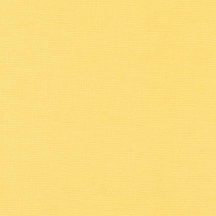 Kona Cotton Solids Buttercup Fabric by Robert Kaufman