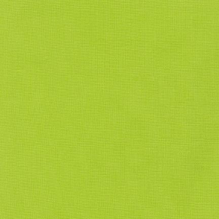 Kona Cotton Solids Chartreuse Fabric by Robert Kaufman