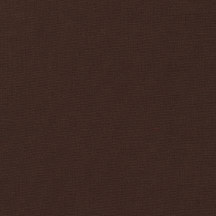 Kona Cotton Solids Coffee Fabric by Robert Kaufman