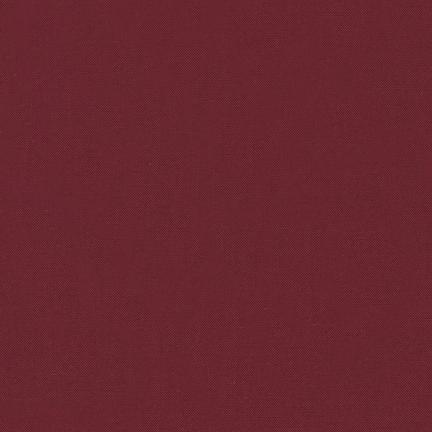 Kona Cotton Solids Crimson Fabric by Robert Kaufman