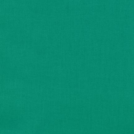 Kona Cotton Solids Jade Green Fabric by Robert Kaufman