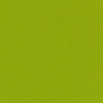 Kona Cotton Solids Lime - Frumble Fabrics
