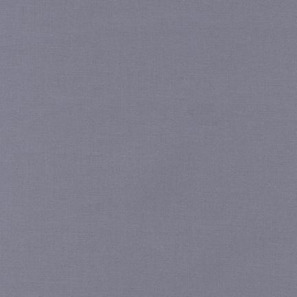 Kona Cotton Solids Med. Grey - Frumble Fabrics