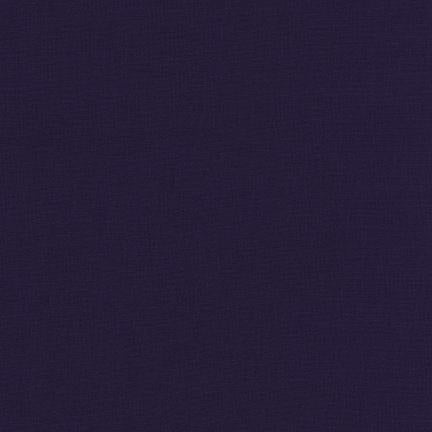 Kona Cotton Solids Midnight Fabric by Robert Kaufman
