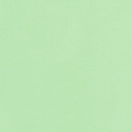 Kona Cotton Solids Mint Fabric by Robert Kaufman