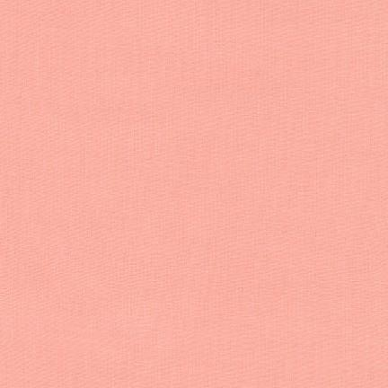 Kona Cotton Solids Peach - Frumble Fabrics