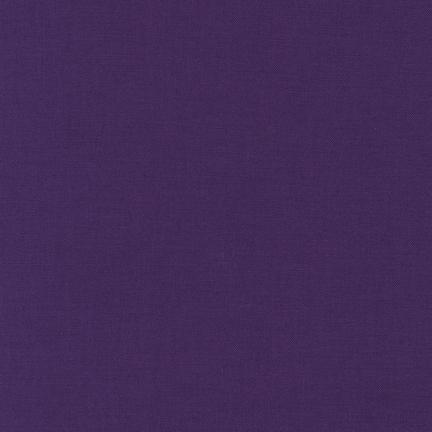 Kona Cotton Solids Purple Fabric by Robert Kaufman