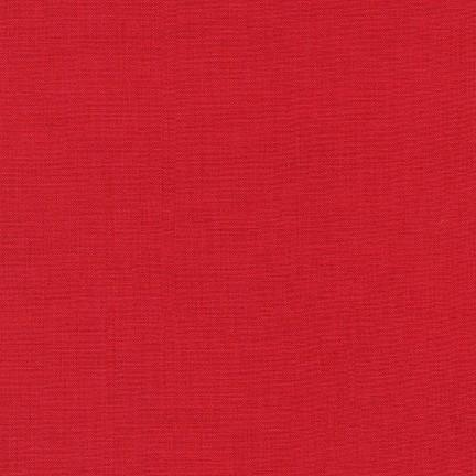 Kona Cotton Solids Red Fabric by Robert Kaufman