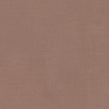 Kona Cotton Solids Taupe Fabric by Robert Kaufman
