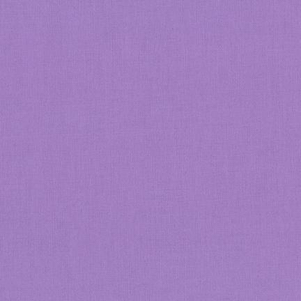 Kona Cotton Solids Wisteria Fabric by Robert Kaufman