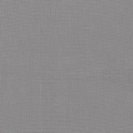 Kona Cotton Solids Pewter - Frumble Fabrics