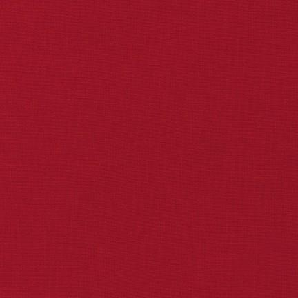 Kona Cotton Solids Chinese Red Fabric by Robert Kaufman
