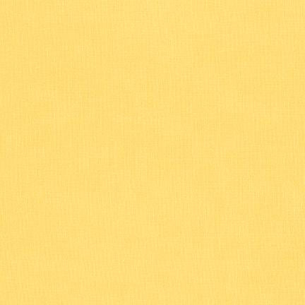 Kona Cotton Solids Lemon - Frumble Fabrics