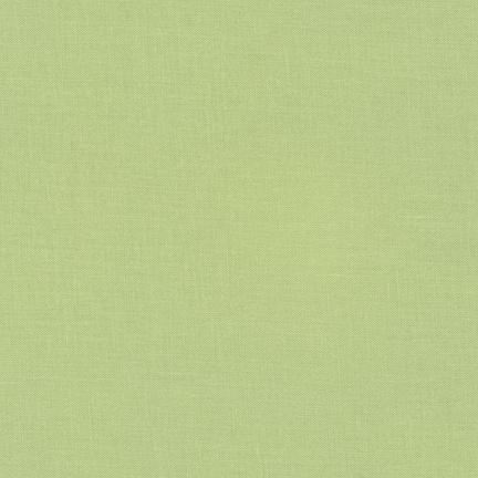 Kona Cotton Solids Tarragon Fabric by Robert Kaufman