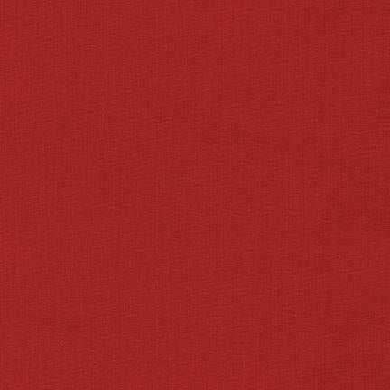 Kona Cotton Solids Ruby Fabric by Robert Kaufman