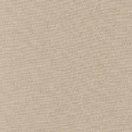 Kona Cotton Solids Parchment - Frumble Fabrics