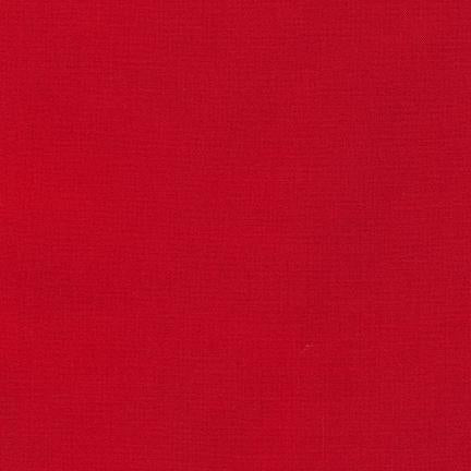 Kona Cotton Solids Tomato Fabric by Robert Kaufman