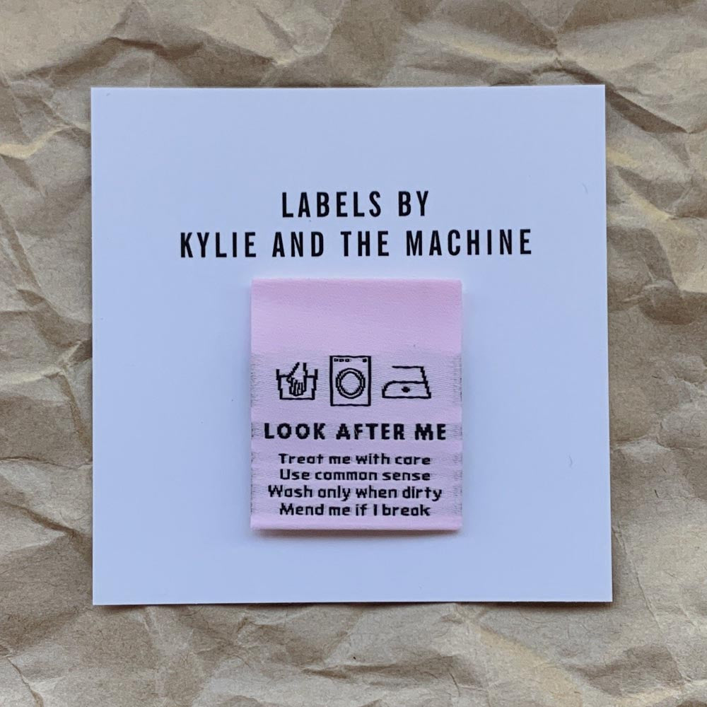 Kylie And The Machine Labels - Look After Me - Frumble Fabrics