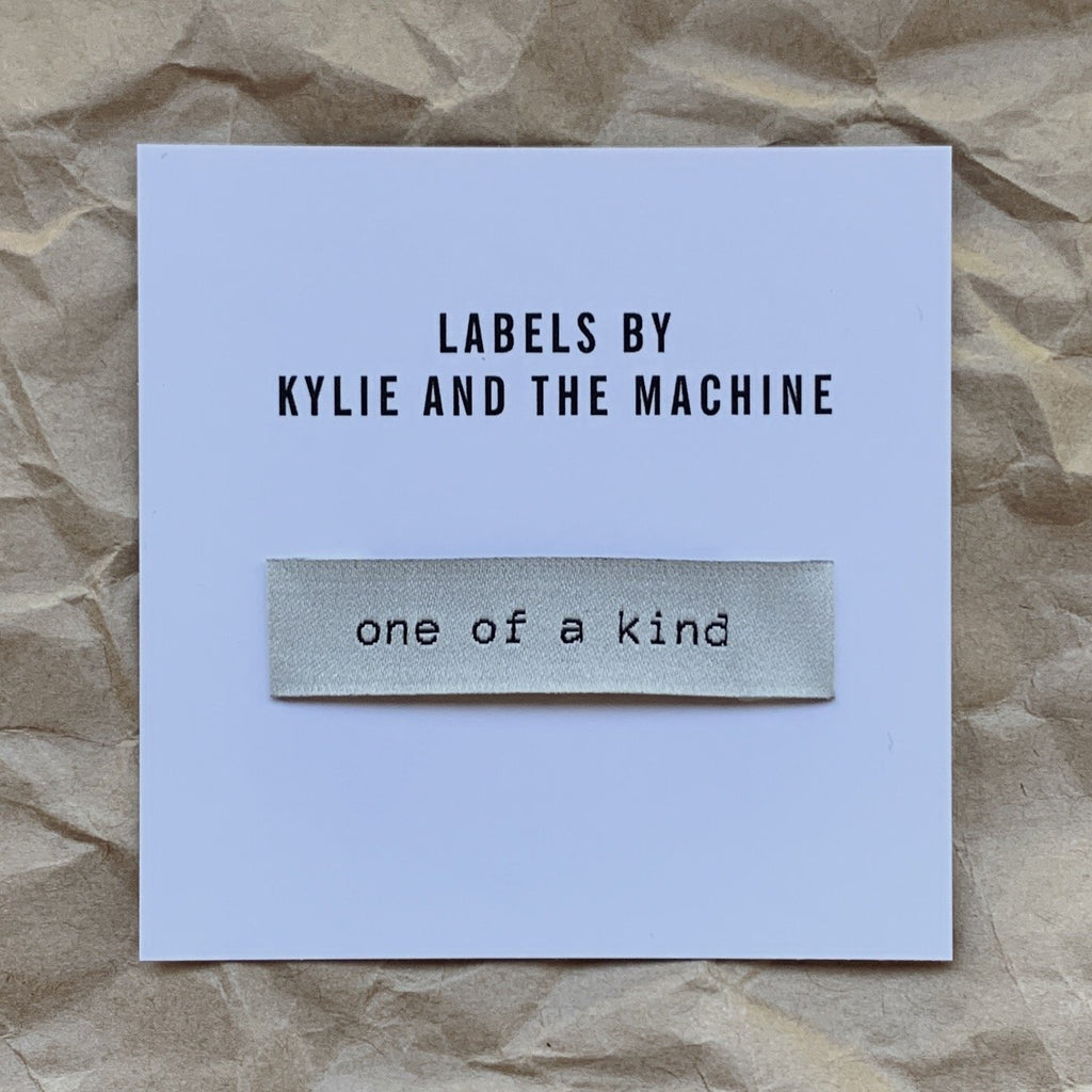 Kylie And The Machine Labels - One Of A Kind - Frumble Fabrics